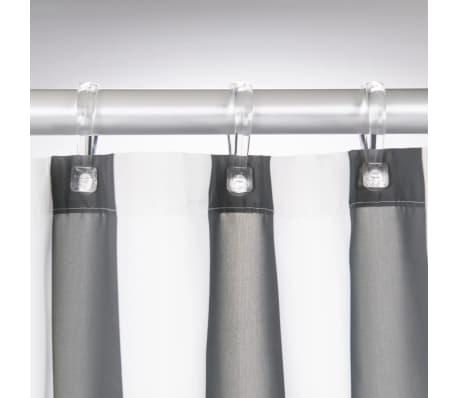 Sealskin Shower Curtain Linje 180 Cm Grey 2330113143 3