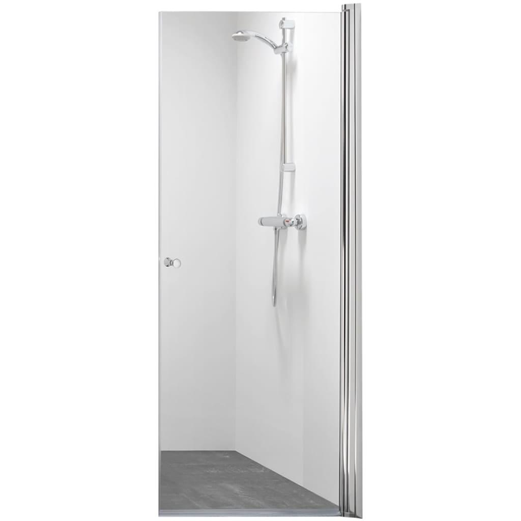 Afbeelding van Get Wet by Sealskin nisdeur C105 90 cm chroom glas CH20090D310100