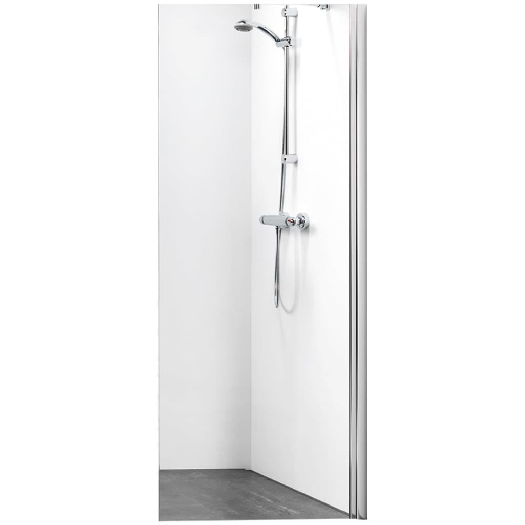 Afbeelding van Get Wet by Sealskin Inloop douchewand W105 A3 75 cm chroom