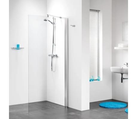 acheter panneau en verre pour douche get wet par sealskin w105 a3 100cm chrome pas cher. Black Bedroom Furniture Sets. Home Design Ideas