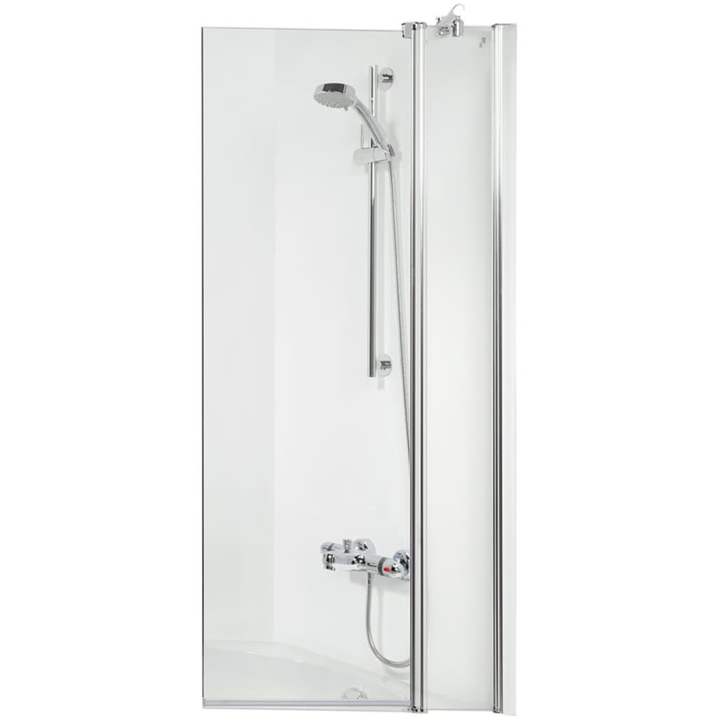 Afbeelding van Get Wet by Sealskin badwand S105 100 cm helder glas SH021004310100