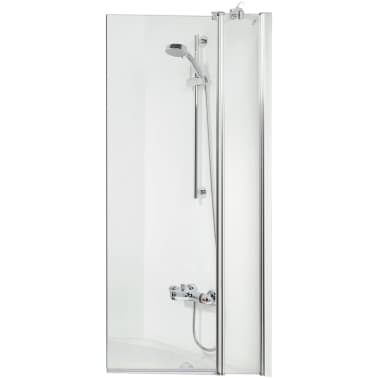 Badklapwand Op Maat.Get Wet By Sealskin Badwand S105 100 Cm Helder Glas Sh021004310100