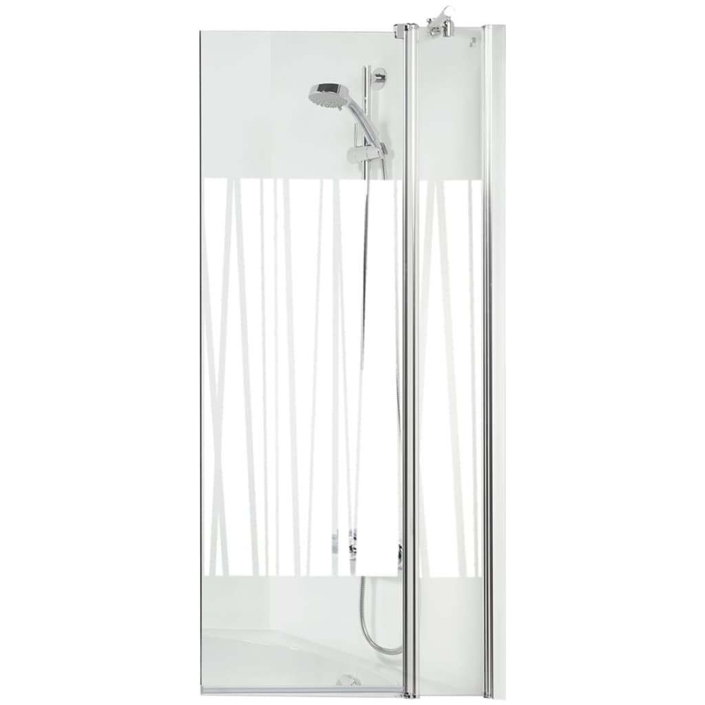 Afbeelding van Get Wet by Sealskin badwand S105 100cm gedecoreerd glas SH011004314400