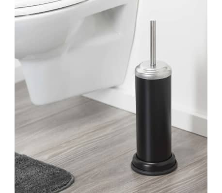 sealskin wc b rste und b rstenhalter acero schwarz. Black Bedroom Furniture Sets. Home Design Ideas