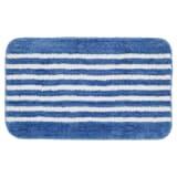Alfombra de baño azul con rayas 50 x 80 cm, Sealskin 294385424