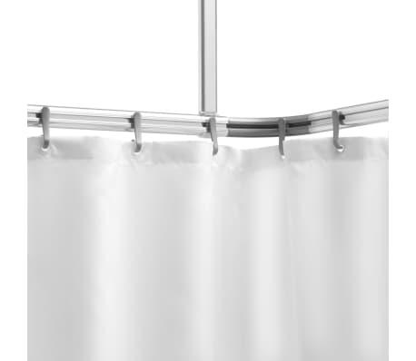 Sealskin alumīnija dušas aizkaru sliede 'Easy Roll'[1/4]