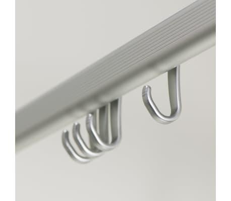 Sealskin alumīnija dušas aizkaru sliede 'Easy Roll'[3/4]