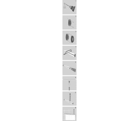 Sealskin karnizo rinkinys, aliuminis[4/4]