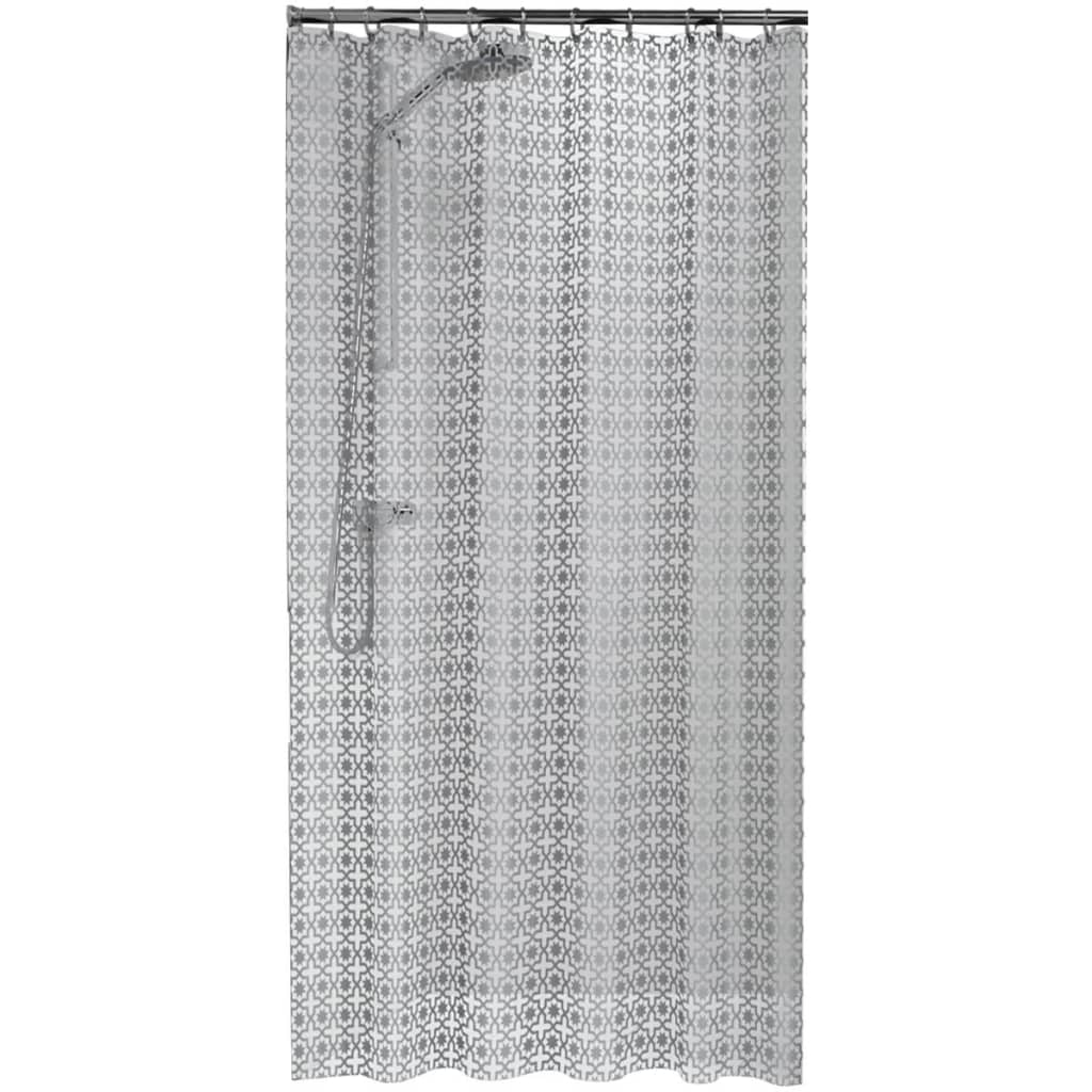 Afbeelding van Sealskin douchegordijn Hammam 180 cm zilver 210861318