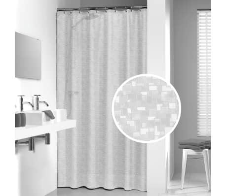 Sealskin tenda per doccia perle 180 cm trasparente - Tenda doccia trasparente ...