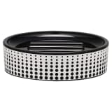 Sealskin Porte-savon noir Speckles 361890119