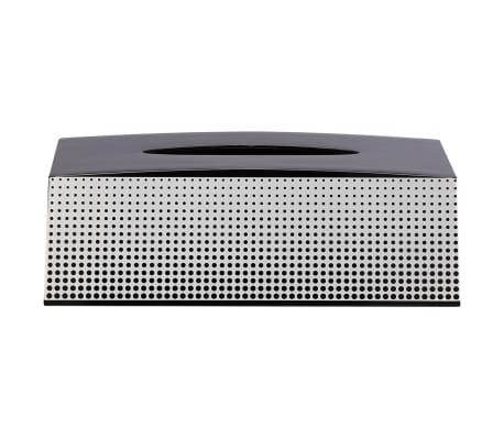 Support boîte à mouchoir noir Speckles Sealskin 361890819