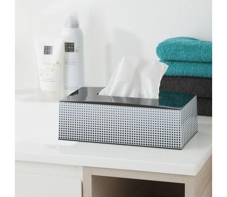 Support boîte à mouchoir noir Speckles Sealskin 361890819[2/4]