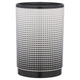 Sealskin Papelera con pedal Speckles negra 4,5 L 361892419
