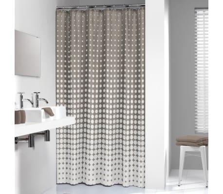 Sealskin Shower Curtain Speckles 180 Cm Taupe 2336013671 4