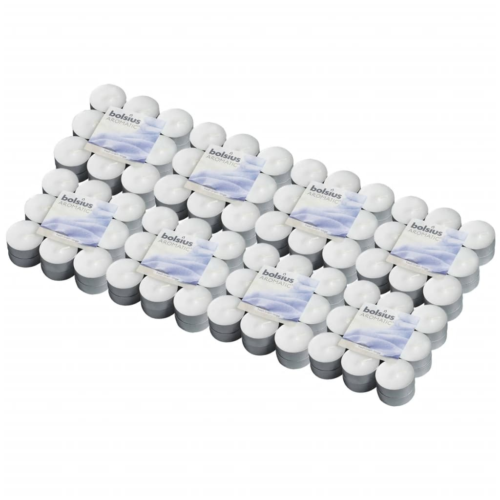 Afbeelding van Bolsius Aromatische theelichtjes Fresh Linen 144 st 103626949358