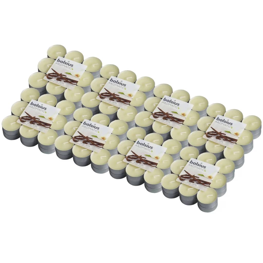 Afbeelding van Bolsius Aromatische theelichtjes Vanilla 144 st 103626949375