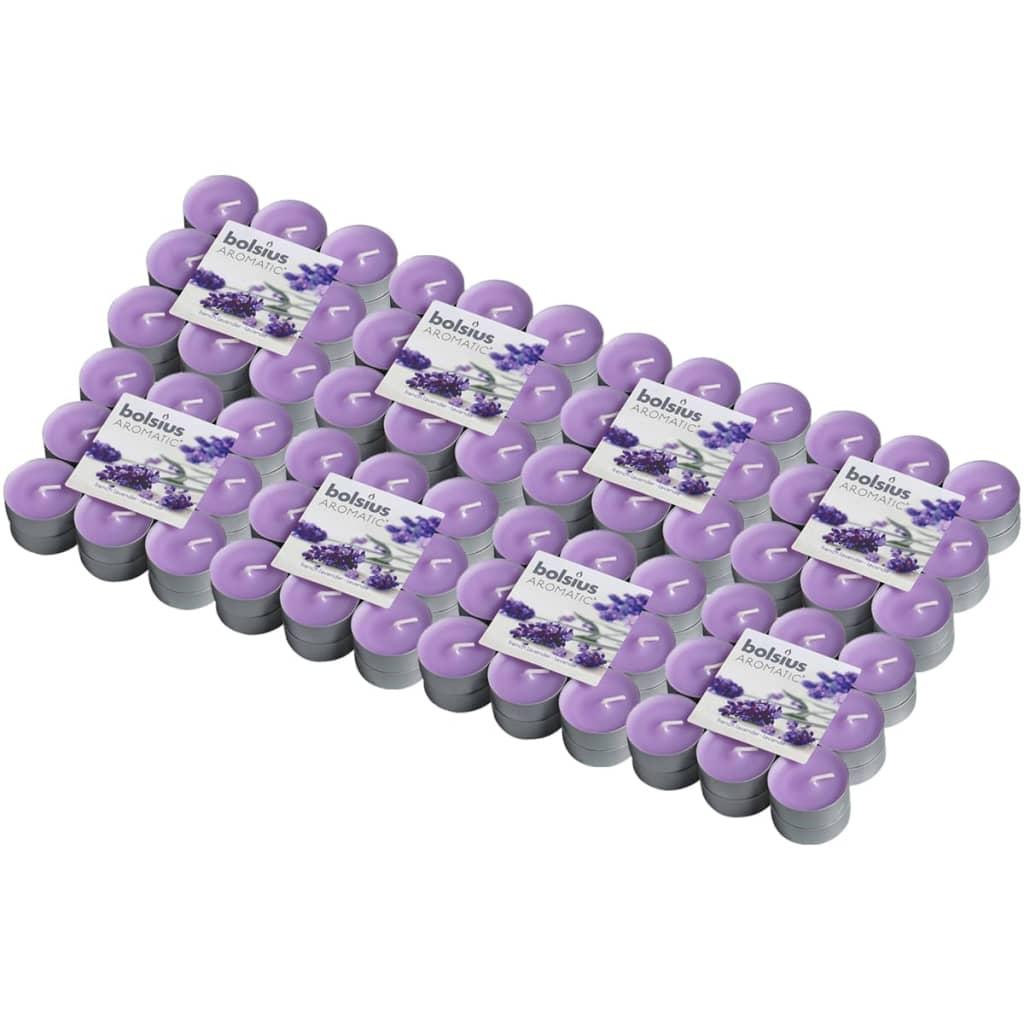 Afbeelding van Bolsius Aromatische theelichtjes French Lavender 144 st 103626949377
