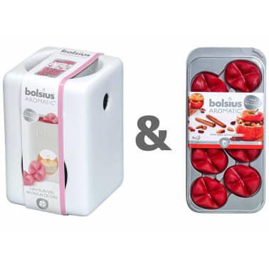 Wax Melts Brander.Bolsius Wax Brander Set Met Aromatische Wax Melts Baked Apple 07790501826
