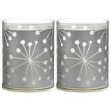 Bolsius Windlichter Sparkle Lights 6 Stk. Kristall Silber 103622390581