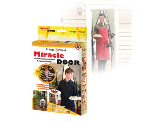 Orange Donkey Mosquitera magnética de puerta Miracle negra BUF001[3/3]