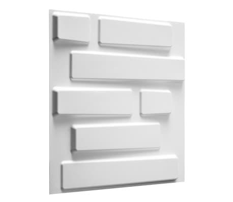 WallArt 3D Sienos plokštės Bricks 12 vnt. GA-WA02[1/10]