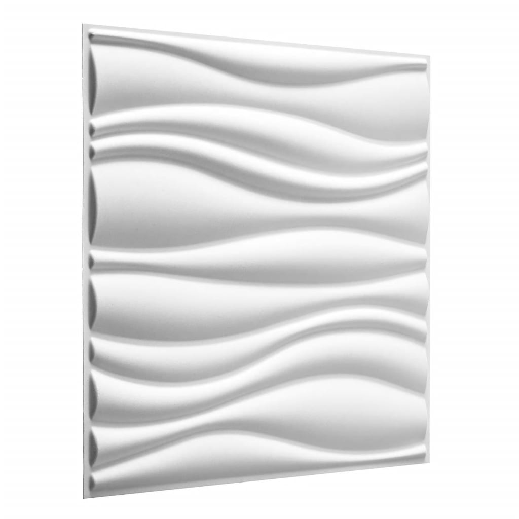 WallArt 3D wandpanelen Waves 12-delig GA-WA04