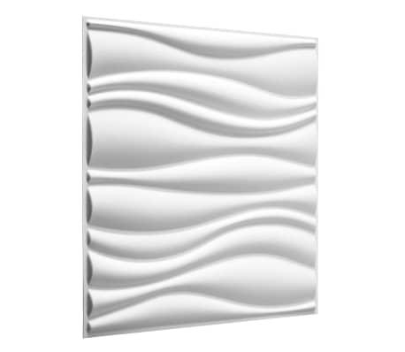 WallArt Panneaux muraux 3D Vagues 12 pcs GA-WA04[2/9]