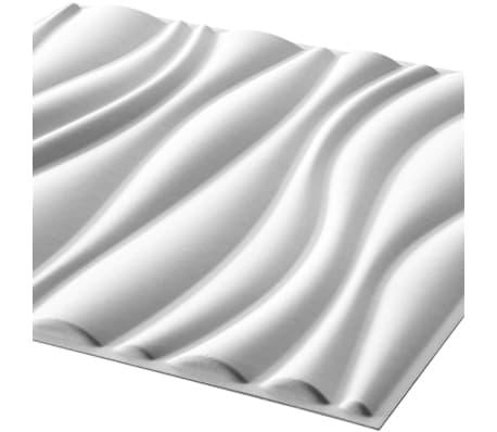 GA-WA04 WallArt 3D-Wandpaneele 3D Wandplatten Wand Decke Tapete Waves 12 Stk