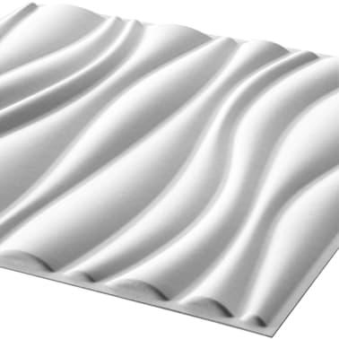 WallArt Panneaux muraux 3D Vagues 12 pcs GA-WA04[3/9]