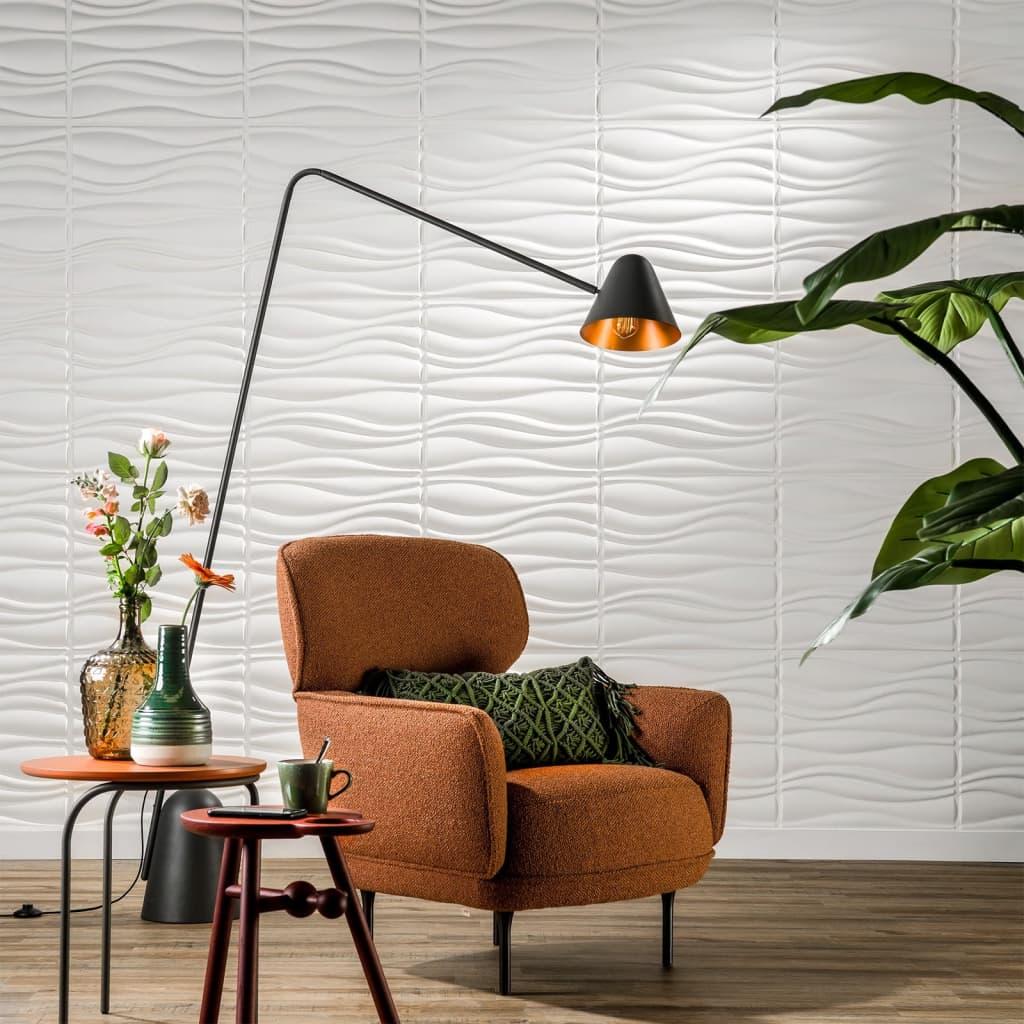 WallArt Lambriuri de perete 3D, Waves, 12 buc, GA-WA04 imagine vidaxl.ro