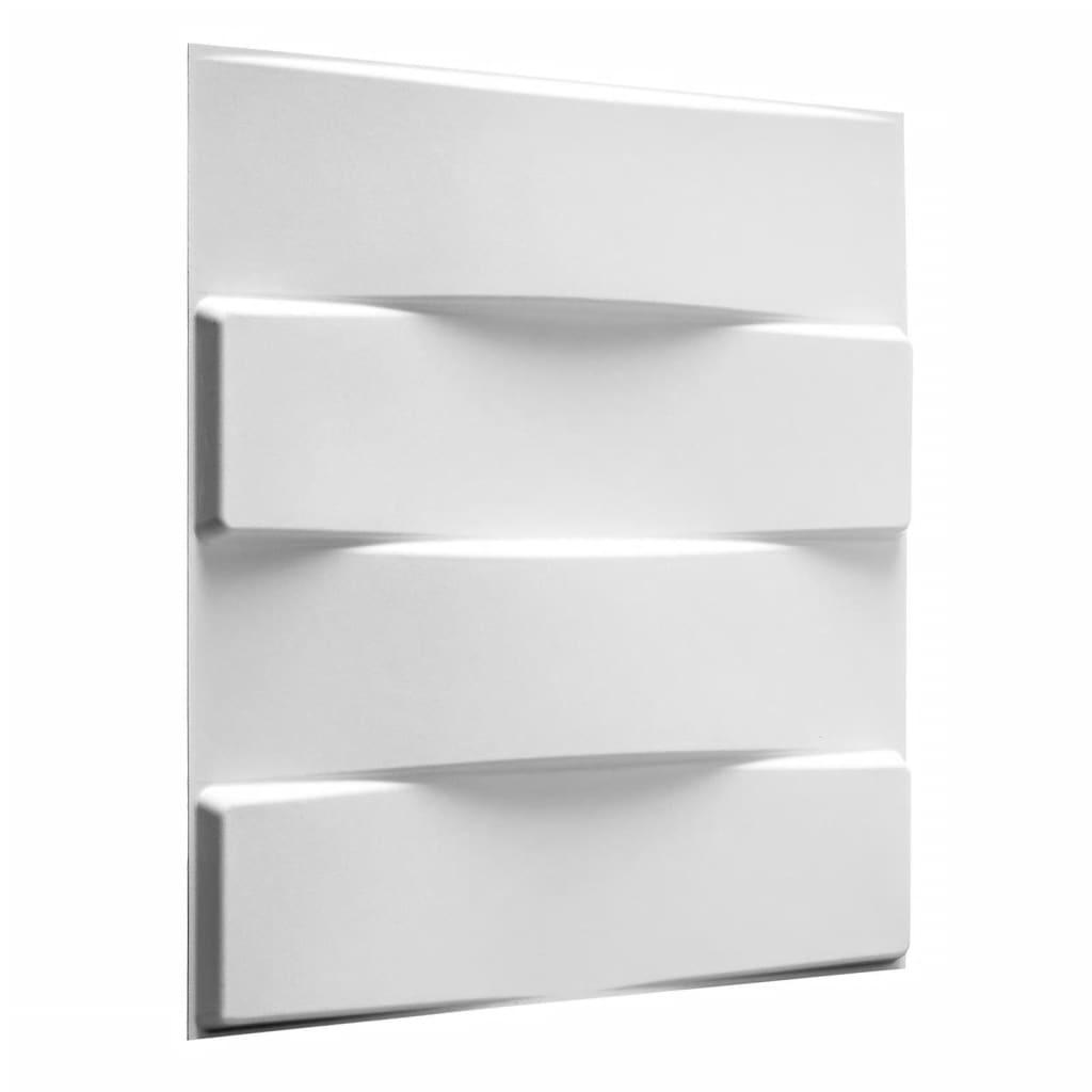WallArt 3D seinapaneelid, võlvid, 12 tk, GA-WA05