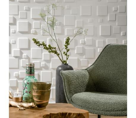 WallArt 3D Sienos plokštės Squares 12 vnt. GA-WA09[6/10]