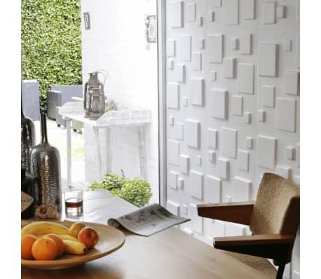 WallArt 3D Sienos plokštės Squares 12 vnt. GA-WA09[8/10]