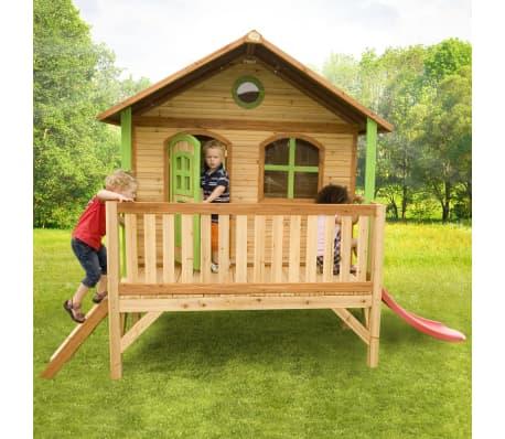 axi kinder spielhaus aus holz stef g nstig kaufen. Black Bedroom Furniture Sets. Home Design Ideas