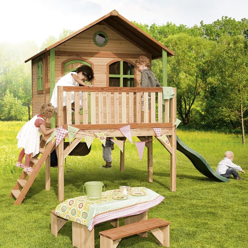 Giochi Per Bambini In Giardino dettagli su axi casetta da gioco giardino per bambini in legno sophie casa  giochi esterni