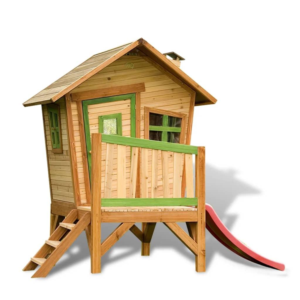 Afbeelding van AXI Buitenspeelhuis met glijbaan Robin hout