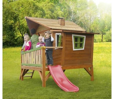 axi children 39 s wooden playhouse slide set emma. Black Bedroom Furniture Sets. Home Design Ideas