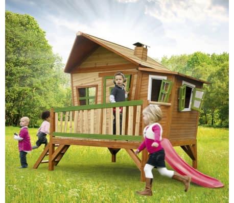 AXI Maison pour enfants avec toboggan Emma Bois[4/5]