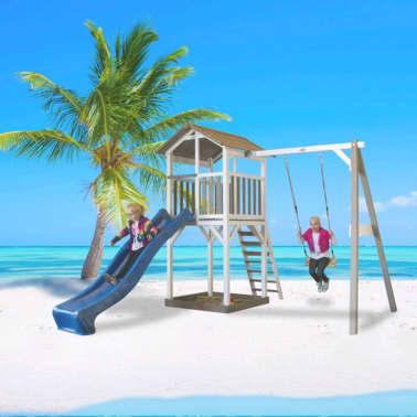 Sunny Aire de jeu Beach Tower Single Swing 349x277x242 cm C050.017.00[5/6]