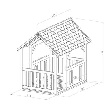 AXI Spielhaus Forest Holz A030.212.00[6/6]