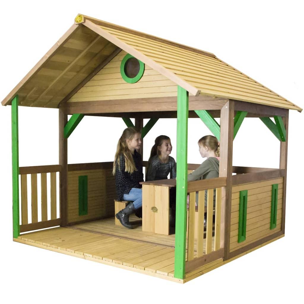 AXI Căsuță de joacă Zazou, lemn, A030.216.00 imagine vidaxl.ro