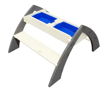 AXI Table de pique-nique d'enfants Delta Gris et blanc A031.023.00[3/6]