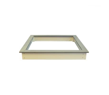 Sunny Medinė smėlio dėžė, 127x127 cm, ruda ir balta, C052.001.00[3/6]