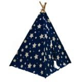 Sunny Teepee Tent Cosmo Glow in the Dark Blue and White C052.102.01