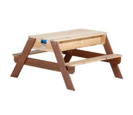 axi sand wasser spieltisch nick mit sonnenschirm zum schn ppchenpreis. Black Bedroom Furniture Sets. Home Design Ideas