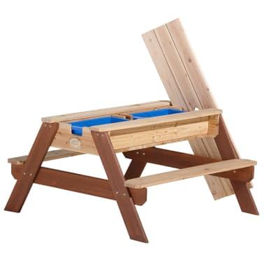 AXI Mesa de picnic arena/agua con sombrilla Nick[4/12]