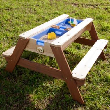 AXI Mesa de picnic arena/agua con sombrilla Nick[5/12]