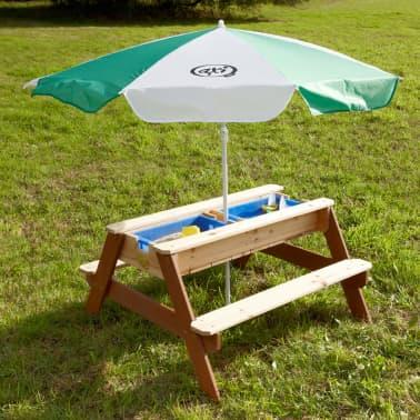 AXI Mesa de picnic arena/agua con sombrilla Nick[6/12]