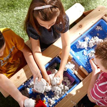 AXI Mesa de picnic arena/agua con sombrilla Nick[9/12]